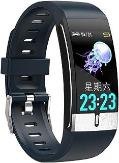 Reloj de Pulsera de Fitness para Mujer y Hombre, con pulsómetro, Reloj Deportivo con Bluetooth, Calendario, Llamadas, SMS, Mensajes, Resistente al Agua, para iOS y Android