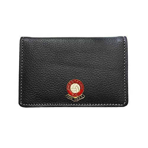 Brentford Football Club Leather Card Holder Wallet