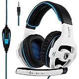 SADES SA810 Auricolare da gioco Xbox One mic PS4 cuffia avricolare Gaming Headset Headphones...