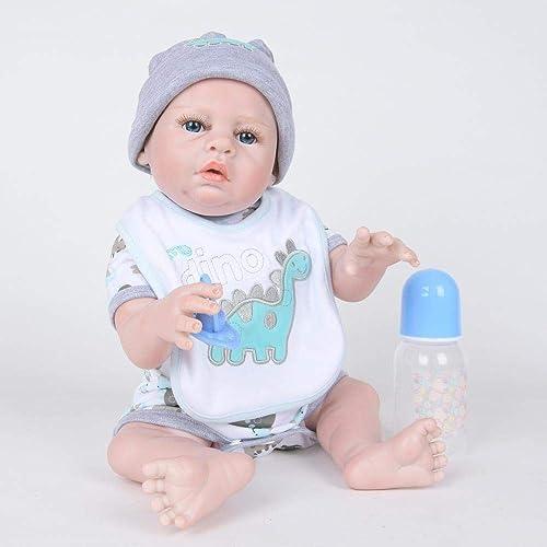 Hongge Reborn Baby Doll,Volle Silikon Vinyl Reborn Babypuppe realistische mädchen Baby Puppen Zoll-cm lebensecht Prinzessin Kids Toy Kinder Birthda Y GIF T