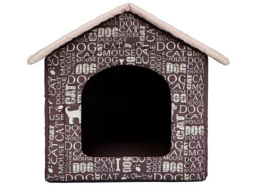 HobbyDog Hundehütte Hundebett Tierbett Katzenbett Text