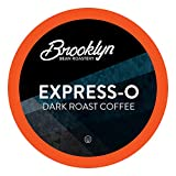 Brooklyn Beans Express-O Coffee Pods, Compatible with 2.0 K-Cup Brewers, 40 Count