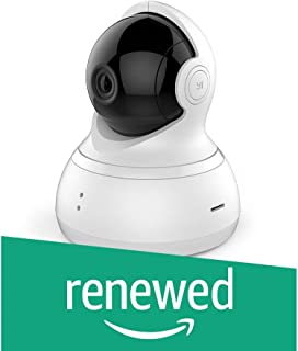 (Renewed) YI Dome 720 Camera Pan/Tilt/Zoom Wireless IP Indoor Security Surveillance System,HD Night Vision, Motion Tracker, Auto-Cruise
