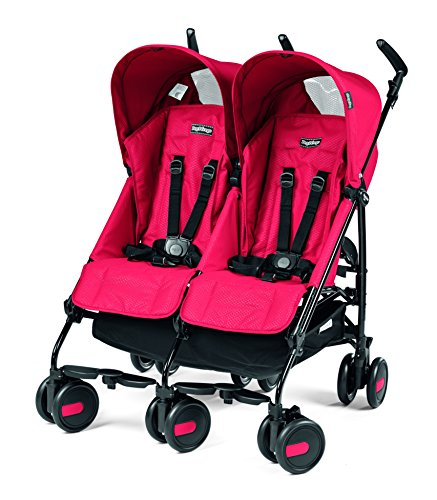 Lowest Price! Peg Perego Pliko Mini Twin Baby Stroller, Mod Red