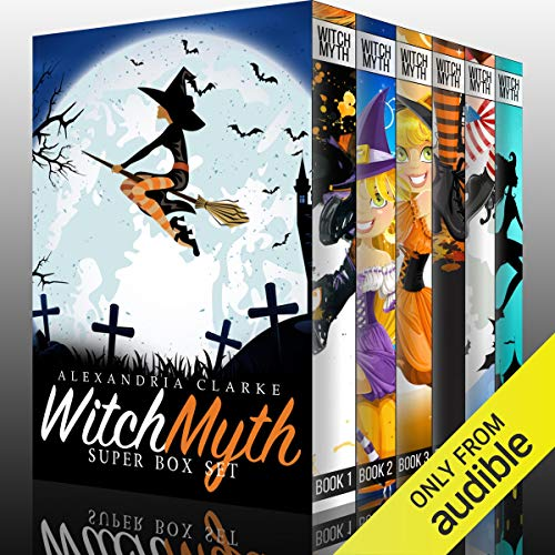 Witch Myth Super Boxset: A Yew Hollow Cozy Mystery audiobook cover art