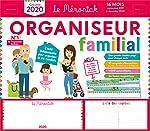 Organiseur familial Mémoniak 2019-2020 - Calendrier sur 16 mois de sept 2019 à dec 2020 - Des magnets ultra-solides et une frise Montessori en cadeau ! d'Editions 365