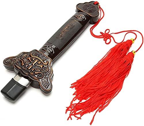 WBXM Espada retráctil, Espada mágica de Artes Marciales de Tai Chi Kung Fu para Ejercicios de Rendimiento de Halloween (Acero Inoxidable)