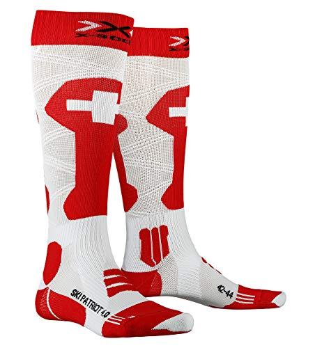 X-Socks SKI Patriot 4.0 Switzerland Socks, 35/38