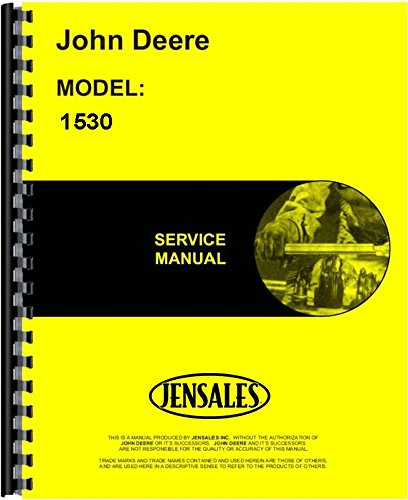 John Deere 1530 Tractor Service Manual