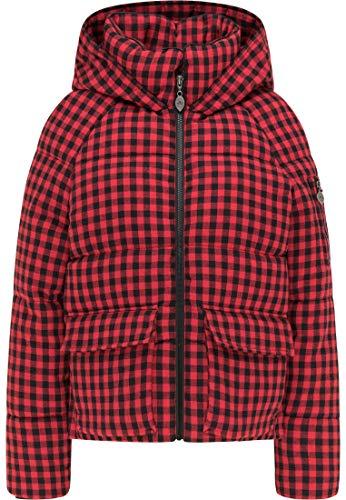 myMo ROCKS Winterjacke Damen 13009481 rot schwarz, L