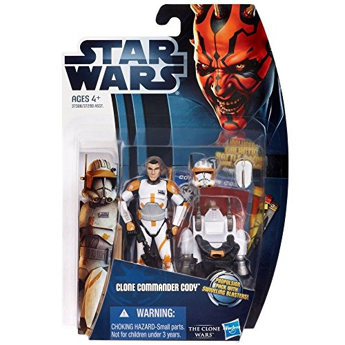Hasbro 37306 - Star Wars: The Clone Wars - Clone Commander Cody in Phase II Armor CW07