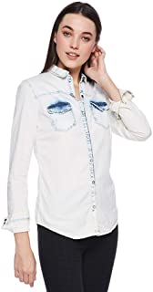 Bershka Shirts For WOMEN, Off White XS