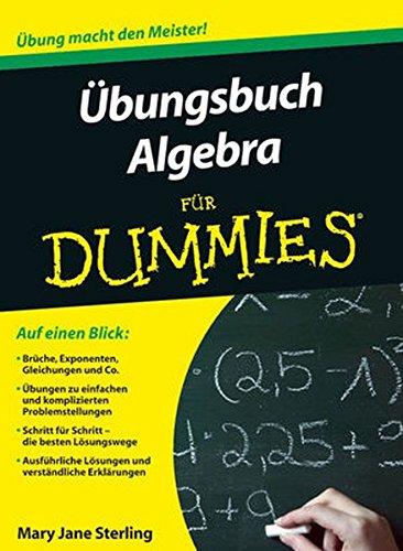 Übungsbuch Algebra für Dummies