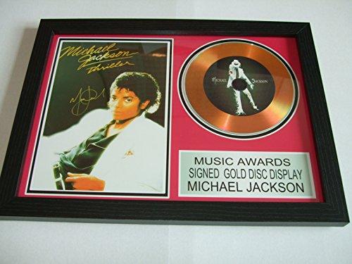 Michael Jackson, signierte Goldscheibe