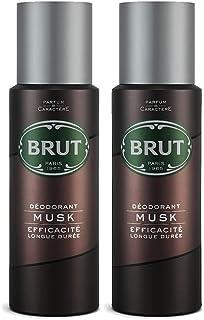 BRUT Musk Men Deodorant, 200ml (Pack of 2)