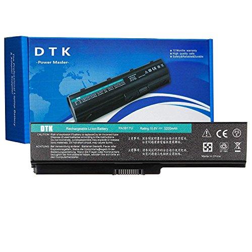 DTK Portatile Batteria per Toshiba Pa3817u-1brs PA3818U-1BRS Pa3819u-1brs Satellite C600 L640 L650 L650d L655 L700 L745 L755d M640 M645 P745 P755 P775 Series (Li-ion 6-cell 10.8V 4400mah)