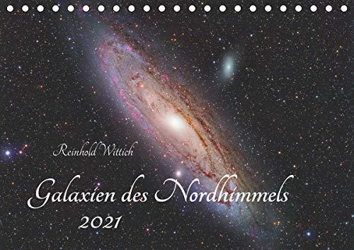 Galaxien des Nordhimmels (Tischkalender 2021 DIN A5 quer)