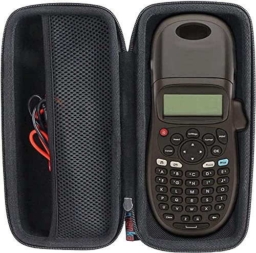 Khanka Hart Tasche Hülle für Dymo LetraTag LT-100H/LT-100H PlusBeschriftungsgerät Handgerät Tragbares Etikettendrucker Etui Schutzhülle