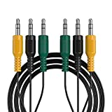 Replacement Audio Cable Compatible with Logitech 5.1 Channel Computer Speakers Color Coded 3.5mm Minijack 3 Male to 3 Male 6.5ft,Compatible with logitech z-5500, z-5450, z-5400, z-5300, z-906, z-680,