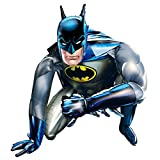 Anagram Globo gigante de Batman AirWalker de 91 cm, tamaño real, inflable, de 91 cm, para niños, fiesta de cumpleaños, regalo de superhéroe, DC Comics Hero