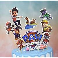 Guizu Cupcake Toppers Decoración para Cupcakes, Topper de Tarta Decoración para Pasteles , Fiesta de Cumpleaños DIY Decoración Suministros, 36Piezas