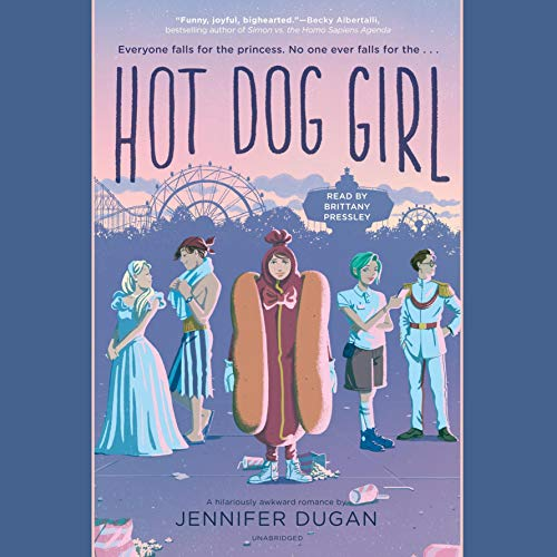 Hot Dog Girl audiobook cover art