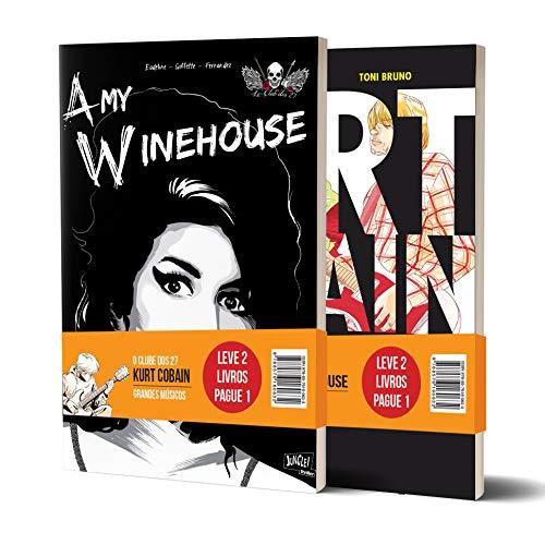 Kit Clube dos 27: Amy Winehouse e Kurt Cobain
