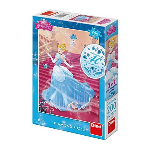 Dino Toys (DINR7) Puzzle Cenicienta En Las Escaleras 200 Piezas Diamante, Multicolor Toys sro Dino_422186