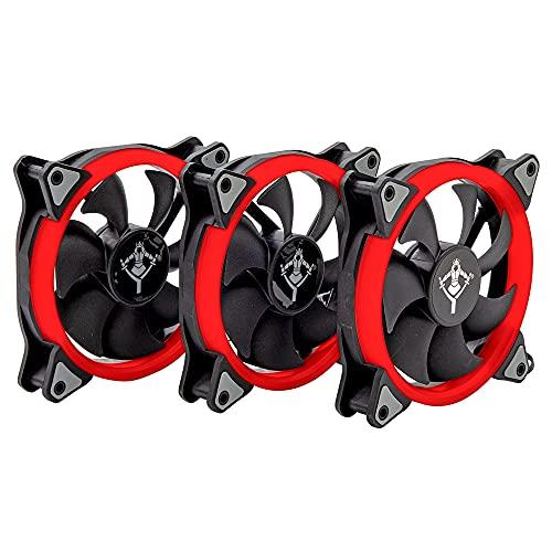 ventiladores 120mm rojos;ventiladores-120mm-rojos;Ventiladores;ventiladores-computadora;Computadoras;computadoras de la marca YEYIAN