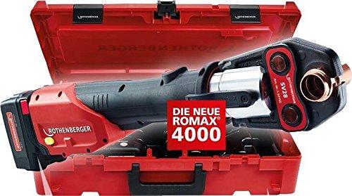 Rothenberger Romax 4000 Pressmaschine für Fittings