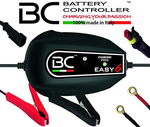 BC Facile 4 UK – 12 V 0.9 A – Supersafe Chargeur de Batterie et Mainteneur