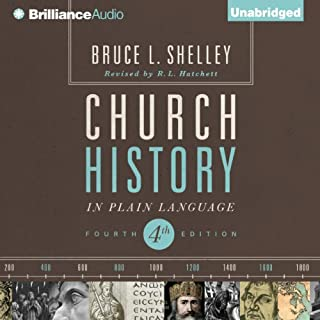 Church History in Plain Language audiobook cover art