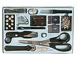 143 teiliges ZE/costurero incluye agujas para Máquinas de Coser, abridor de costuras, telliswelt, Makierrädchen, tijeras de costura etc.