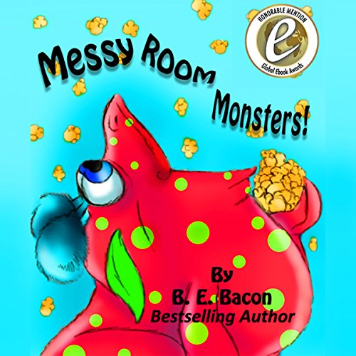 Messy Room Monsters! audiobook cover art