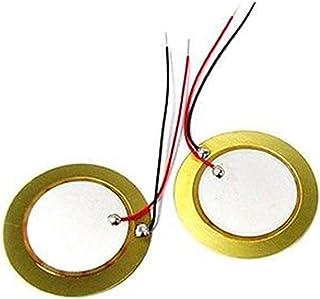 Winwill 10PCS 35mm Piezo Elements buzzer Sounder Sensor Trigger Drum Disc