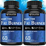 Night Time Fat Burner, 2PACK Weight Loss Dietary...