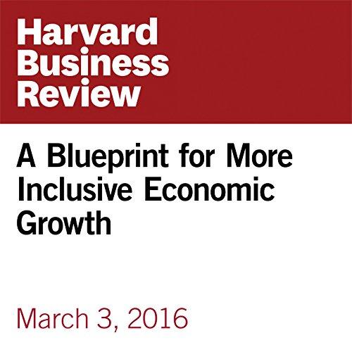 A Blueprint for More Inclusive Economic Growth copertina