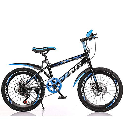 KaiKai Variable Speed ​​Mountain Bike, 20/22 Zoll Carbon Steel Fahrrad, Studenten- und Kinderroller, Outdoor Radfahren, Variable Speed ​​Berg Fahrrad, MTB, 2,22inches (Color : 1, Size : 20inches)