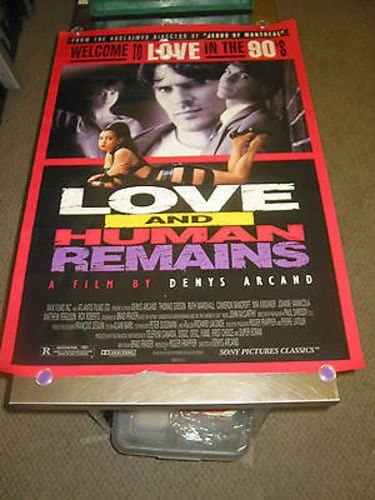 LOVE AND HUMAN REMAINS ORIG. U.S. POSTER online shopping SHEET MOVIE MIA Popular brand ONE K