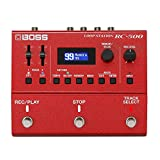 BOSS RC-500 Advanced Two-Track Loop Station, Red