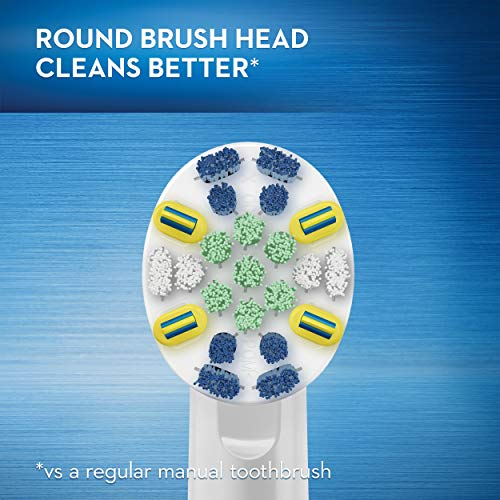 Oral-B Vitality FlossAction Electric Rechargeable Toothbrush with 2 Brush Heads