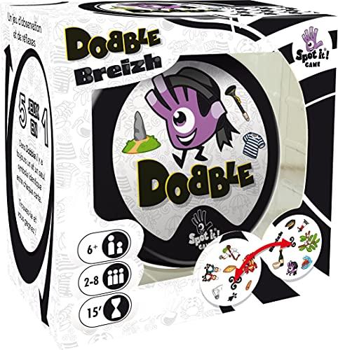 Dobble Breizh Asmodee - Juego de Cartas de Velocidad y observación