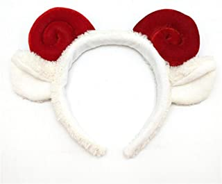 XLEIYI Lovely Christmas Dress Up Supplies Antlers Headband Headband Hair Accessories Christmas Hat Child Adult Christmas Party Decoration Gift (Color : E)