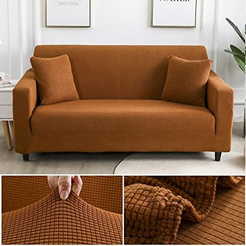 WXQY Funda Protectora de sofá Simple Esquina en Forma de L Funda de sofá Antideslizante Funda de sofá elástica Completa Funda de sofá de protección para Mascotas A3 1 plazas