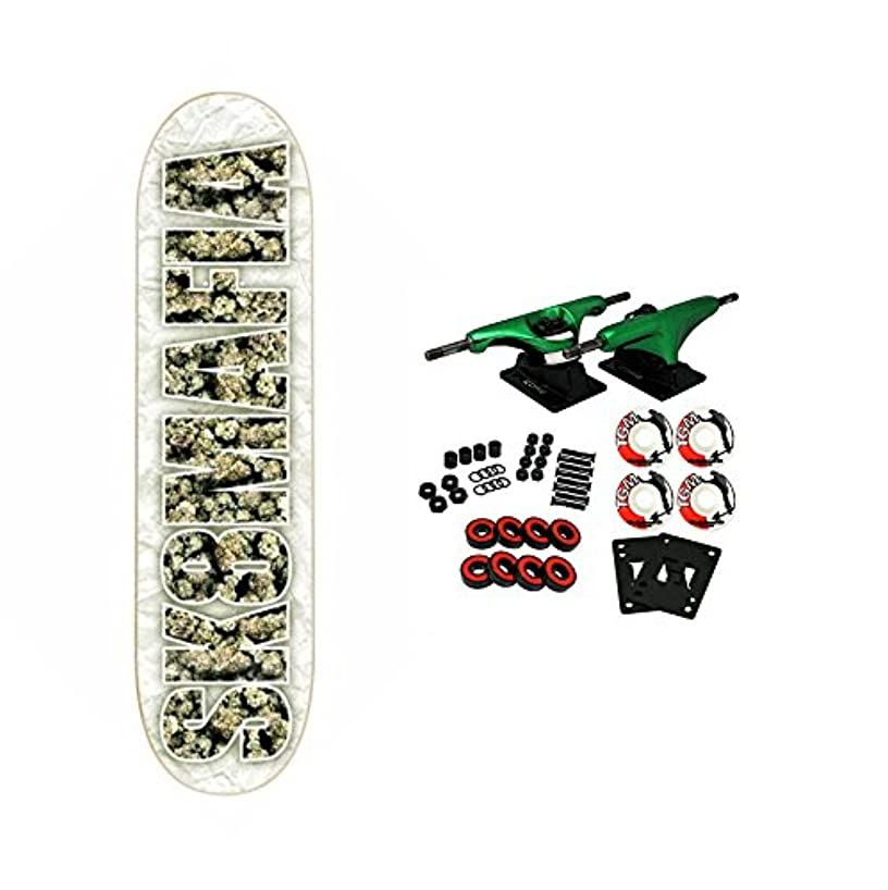 Complete Skateboard Og Kush Weed Nugs Logo Deck 8.25