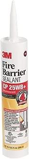 12 Pack 3M CP-25WB+ 4 Hour Fire Barrier Sealant - 10.1-oz Cartridge