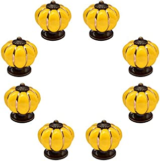 Zinc Alloy Furniture Pulls Knobs,4 Pack Childrens Drawer Cute Handle Knobs Protection Handle Silicone 4, Orange