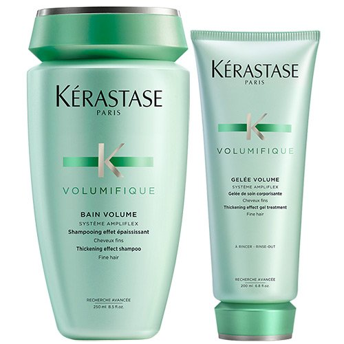 Kérastase Bain & Volumifique Gelée Crema (Shampoo y Acondicionador) Duo
