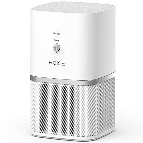 Best Review Of KOIOS Air Purifier, True HEPA Filter Air Purifier for Home, Offices & Bedrooms, Air C...
