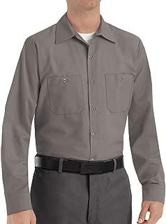 Men's Industrial Long Sleeve Work Shirt
